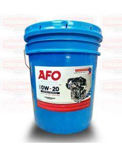 Aceite SAE 0W20 Sintético para Motor AFO 18,9 Litros (Cuñete)