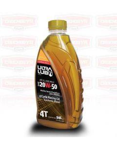 2 Aceites para MOTO 20W-50 SL 4 Cycle Semi Sintético 946 ml Ultralub